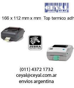 166 x 112 mm x mm  Top termico adhesivo