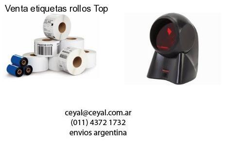 Venta etiquetas rollos Top
