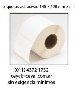 etiquetas adhesivas 145 x 136 mm x mm