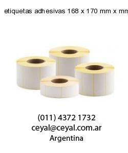 etiquetas adhesivas 168 x 170 mm x mm