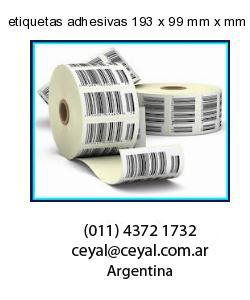 etiquetas adhesivas 193 x 99 mm x mm
