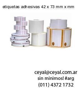 etiquetas adhesivas 42 x 73 mm x mm