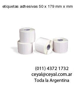 etiquetas adhesivas 50 x 179 mm x mm