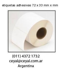 etiquetas adhesivas 72 x 33 mm x mm