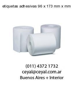 etiquetas adhesivas 96 x 173 mm x mm