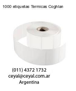 1000 etiquetas Termicas Coghlan