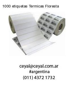 1000 etiquetas Termicas Floresta