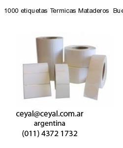 1000 etiquetas Termicas Mataderos  Buenos Aires