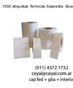 1000 etiquetas Termicas Saavedra  Buenos Aires