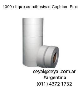 1000 etiquetas adhesivas Coghlan  Buenos Aires
