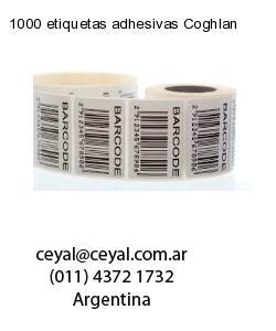 1000 etiquetas adhesivas Coghlan