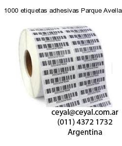 1000 etiquetas adhesivas Parque Avellaneda  Buenos Aires