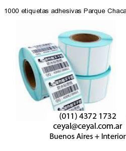 1000 etiquetas adhesivas Parque Chacabuco  Buenos Aires