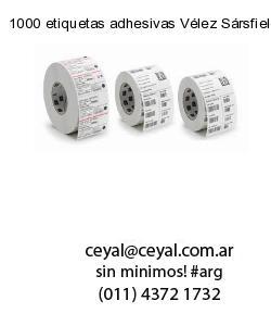 1000 etiquetas adhesivas Vélez Sársfield  Buenos Aires