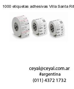 1000 etiquetas adhesivas Villa Santa Rita