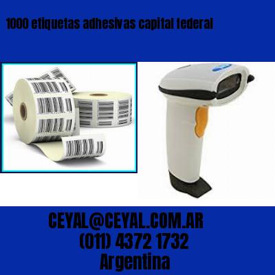 1000 etiquetas adhesivas capital federal
