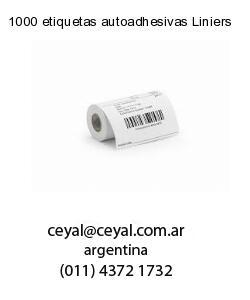 1000 etiquetas autoadhesivas Liniers