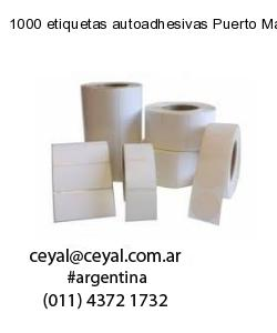 1000 etiquetas autoadhesivas Puerto Madero  Buenos Aires