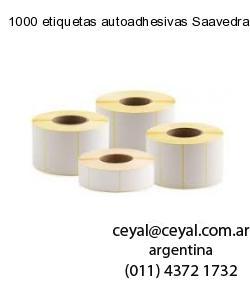 1000 etiquetas autoadhesivas Saavedra  Buenos Aires