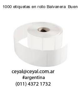 1000 etiquetas en rollo Balvanera  Buenos Aires