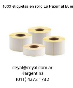 1000 etiquetas en rollo La Paternal Buenos Aires