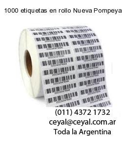 1000 etiquetas en rollo Nueva Pompeya  Buenos Aires