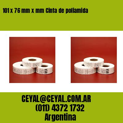 101 x 76 mm x mm Cinta de poliamida