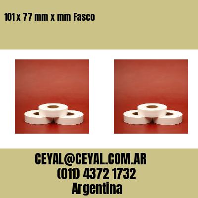 101 x 77 mm x mm Fasco