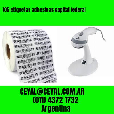105 etiquetas adhesivas capital federal