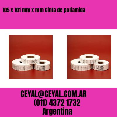 105 x 101 mm x mm Cinta de poliamida