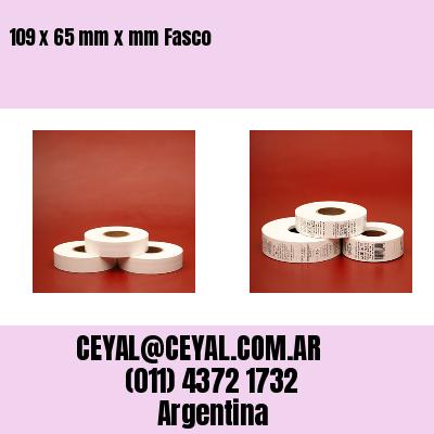 109 x 65 mm x mm Fasco