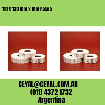 110 x 130 mm x mm Fasco