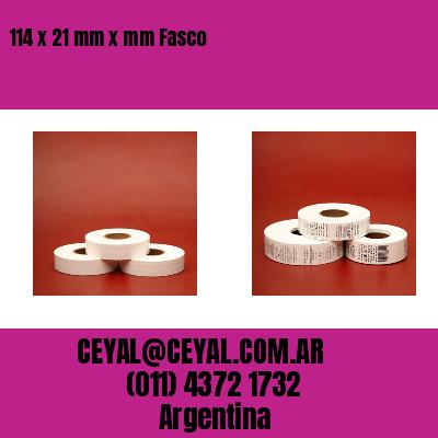 114 x 21 mm x mm Fasco