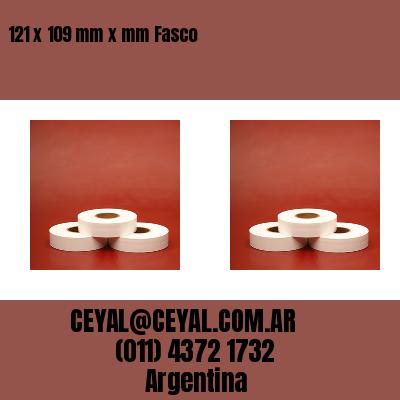 121 x 109 mm x mm Fasco