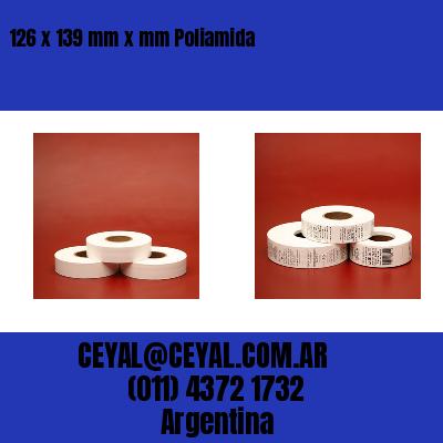 126 x 139 mm x mm Poliamida
