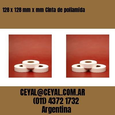 128 x 128 mm x mm Cinta de poliamida