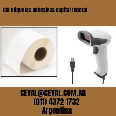 130 etiquetas adhesivas capital federal