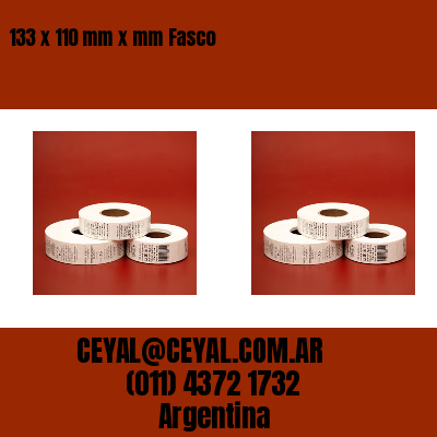 133 x 110 mm x mm Fasco
