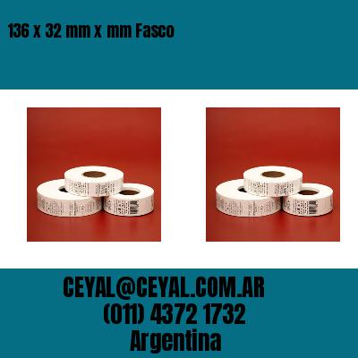 136 x 32 mm x mm Fasco