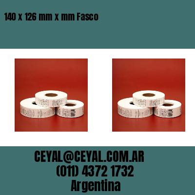 140 x 126 mm x mm Fasco