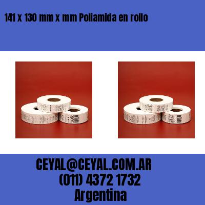 141 x 130 mm x mm Poliamida en rollo