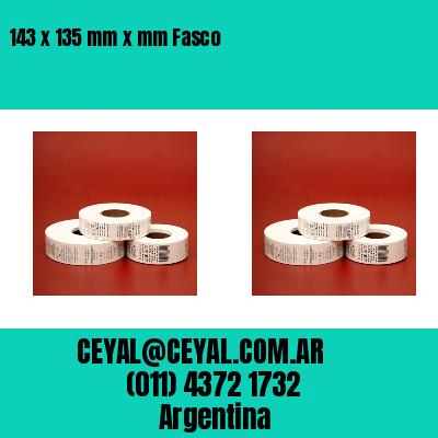 143 x 135 mm x mm Fasco