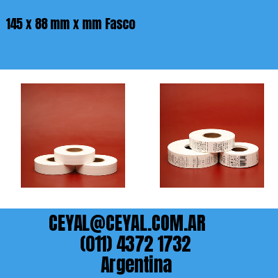 145 x 88 mm x mm Fasco