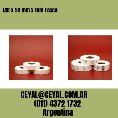 146 x 59 mm x mm Fasco