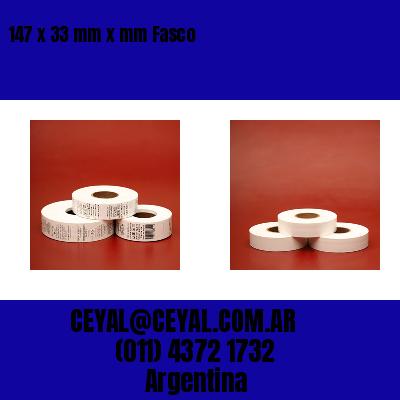 147 x 33 mm x mm Fasco