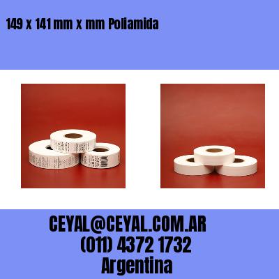 149 x 141 mm x mm Poliamida