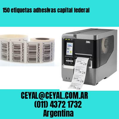 150 etiquetas adhesivas capital federal
