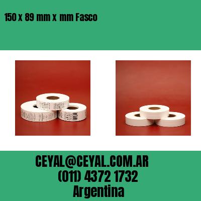 150 x 89 mm x mm Fasco