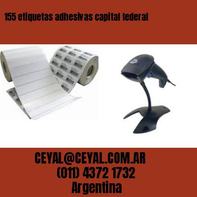 155 etiquetas adhesivas capital federal