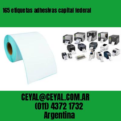 165 etiquetas adhesivas capital federal